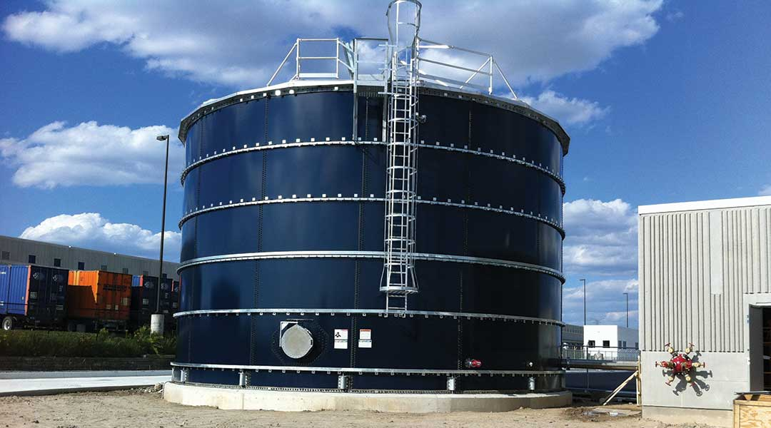 Fire Protection Liquid Storage Tank Milton, ON