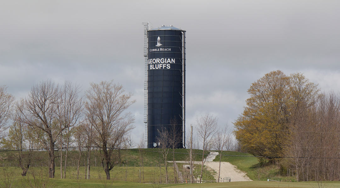 Georgian Bluffs Standpipe Liquid Storage